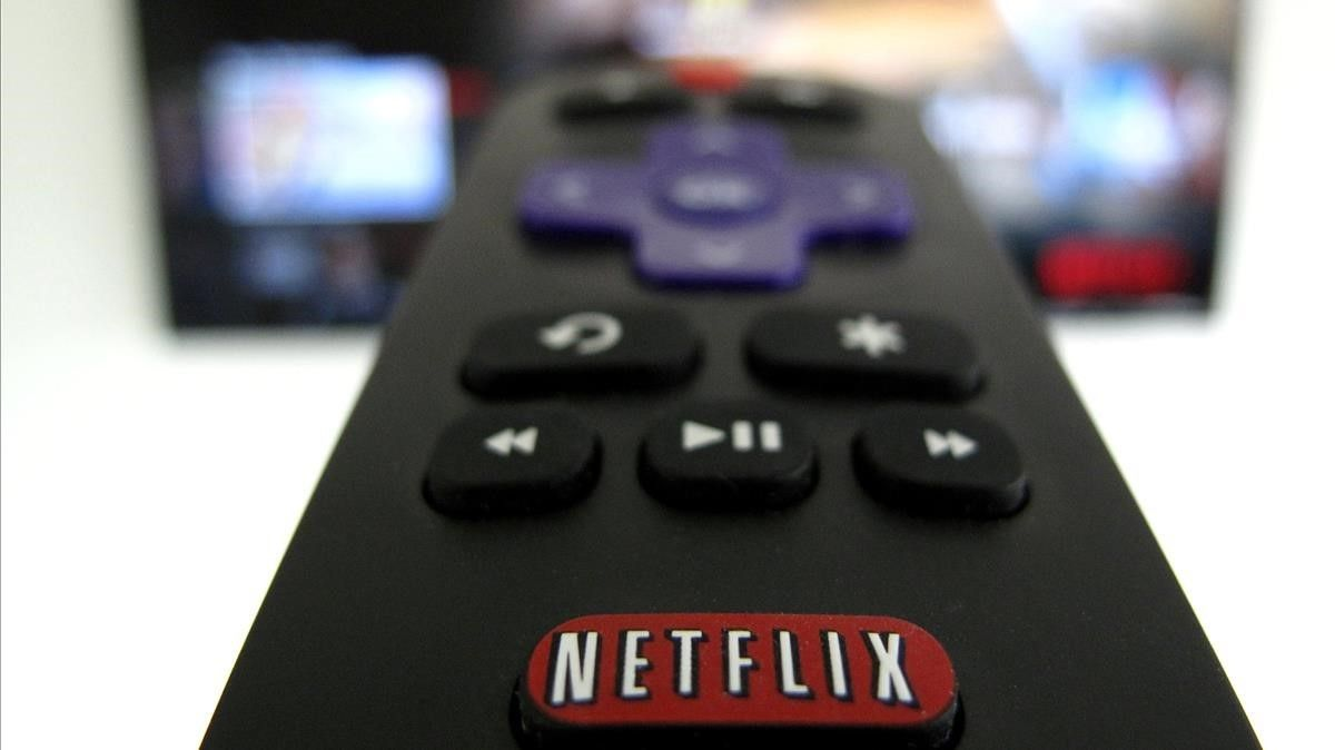 Imagen promocional de la plataforma de televisíon por internet Netflix.