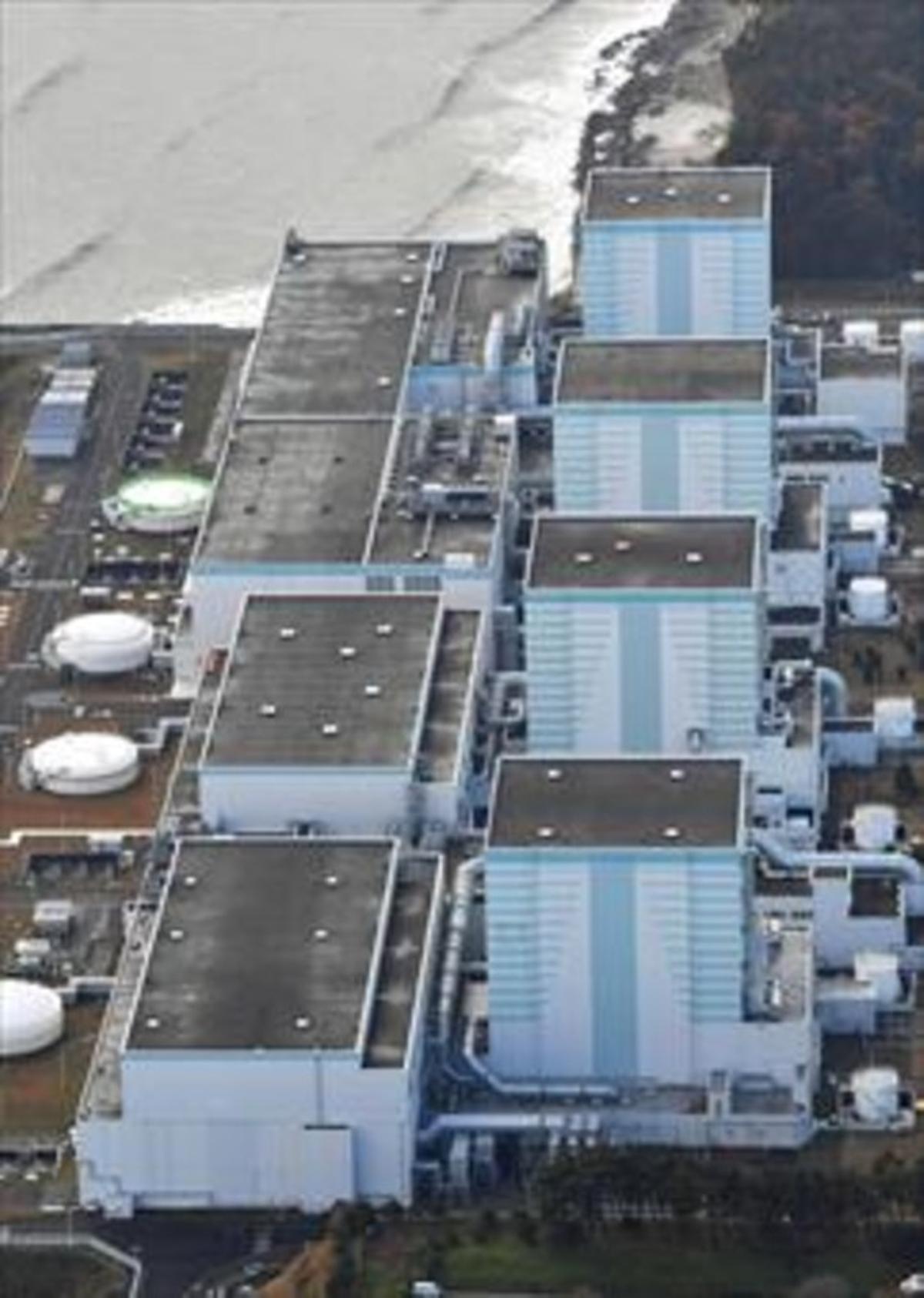 Vista aérea de la nuclear de Fukushima, en una imagen de archivo.