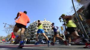 La Marató de Barcelona reuneix 20.000 'runners'