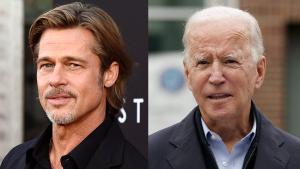 Pitt, l'última estrella de Hollywood en mullar-se per Biden