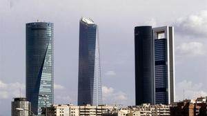 Vista de las torres de Madrid, donde tienen su sede algunas de las principales firmas de consultoría.