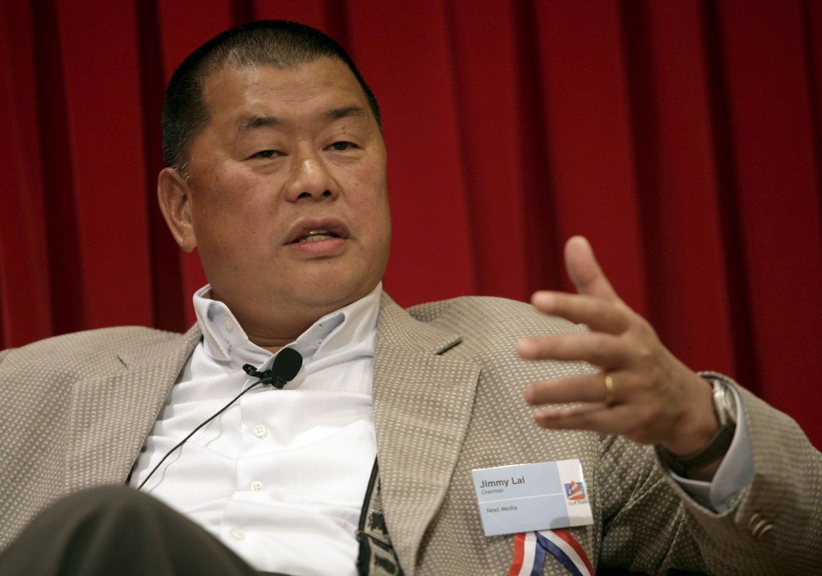 Jimmy Lai, en una imagen de archivo.