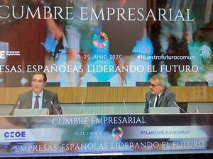 DIRECTE | Cimera empresarial a Madrid per reactivar l'economia