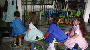 Un estudi en escoles bressol demostra la baixa transmissió de Covid entre infants