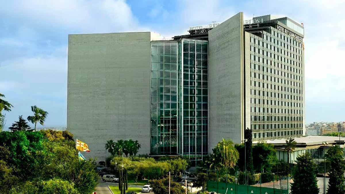 El hotel Rey Juan Carlos I.