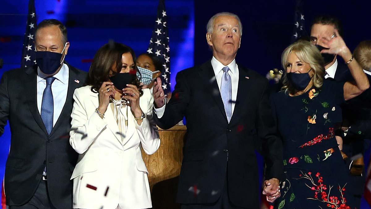 El presidente electo de Estados Unidos, el demócrata Joe Biden, invitó este sábado a los estadounidenses a dejar atrás la división que ha imperado durante el Gobierno de Donald Trump e instó a que todos se den una oportunidad.