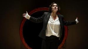 Clara Segura, en el monólogo 'Conillet'.