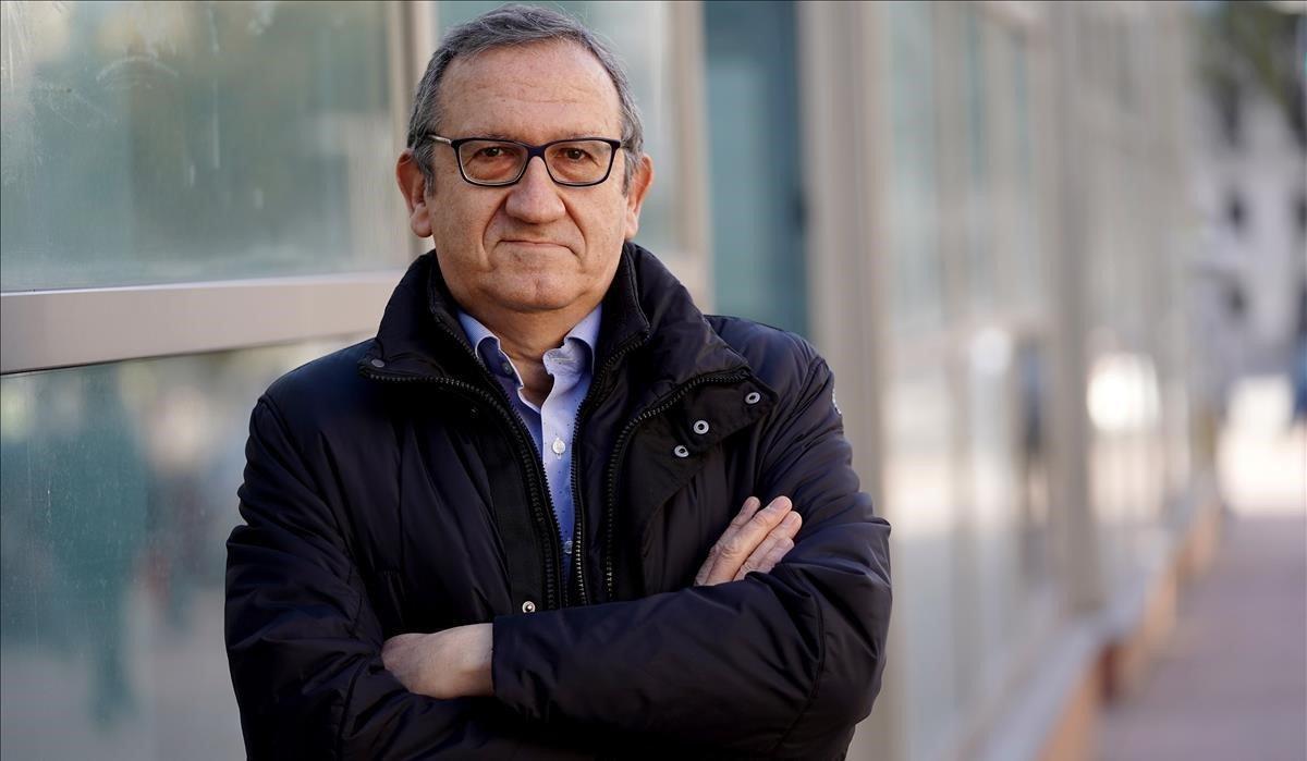 Carlos Cruzado, presidente del sindicato de técnicos de Hacienda Gestha, el pasado 20 de noviembre en Madrid.