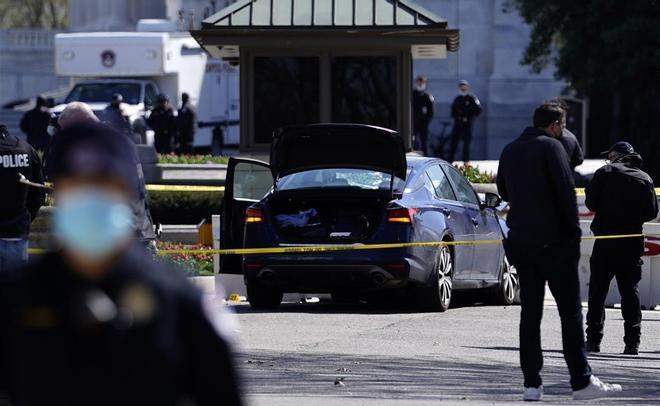 Un policía muere y otro resulta herido en un atropello en el Capitolio