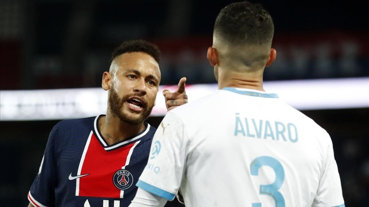 Neymar acusa de racismo a Álvaro González en la derrota del PSG
