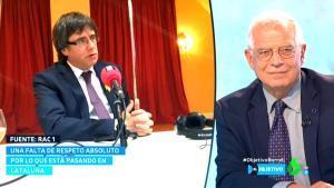 Josep Borrell en 'El objetivo' (La Sexta).