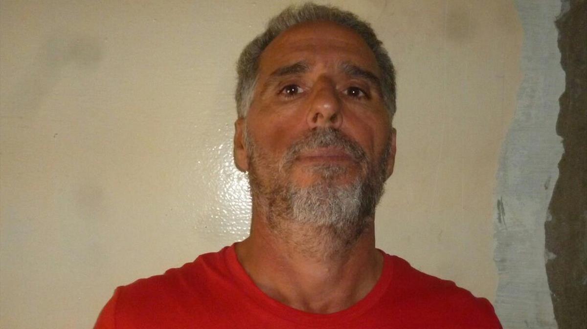 Ficha policial del capo italiano Rocco Morabito.