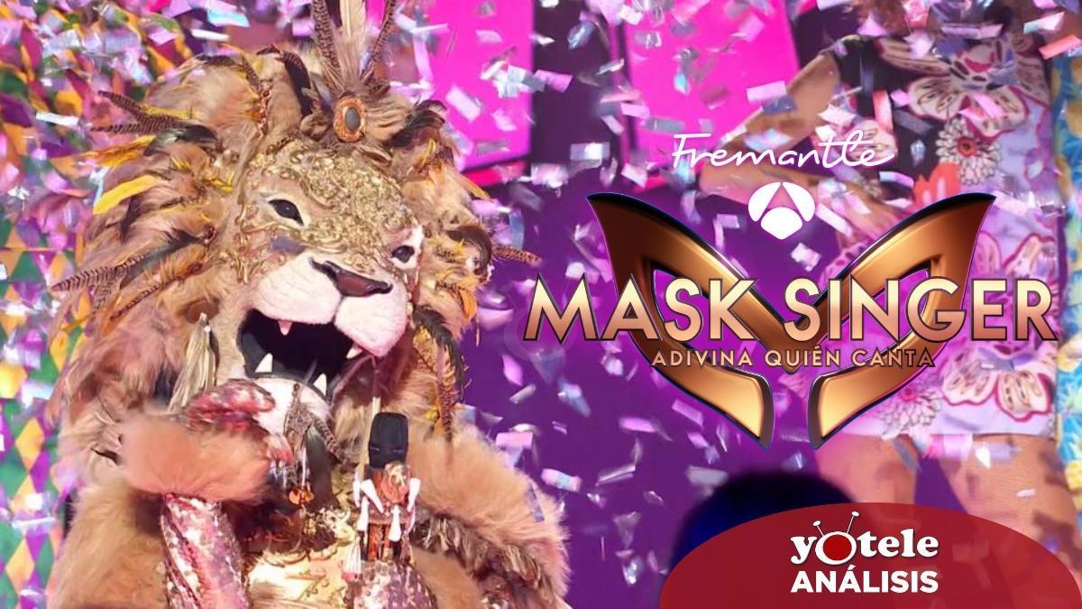 León en 'Mask Singer: Adivina quién canta'