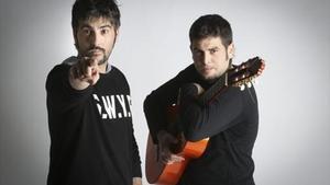 Los hermanos Muñoz, Estopa, que llevarán su gira'Rumba a lo desconocido' a Porta Ferrada.