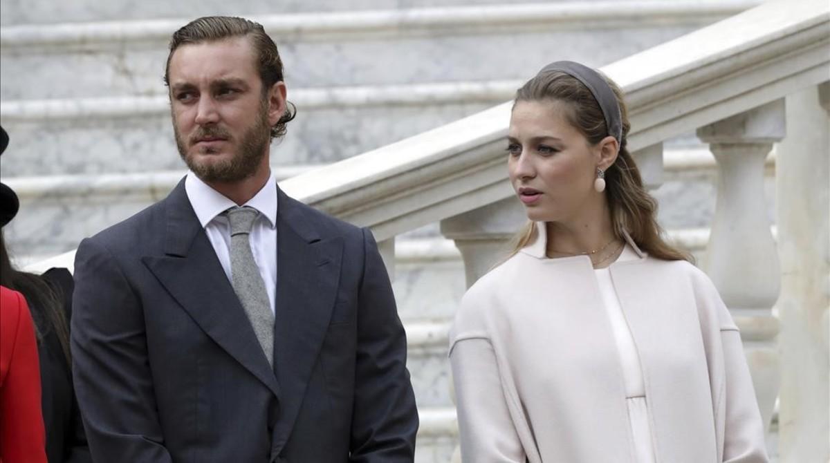 Pierre Casiraghi y Beatrice Borromeo, el pasado mes de noviembre.