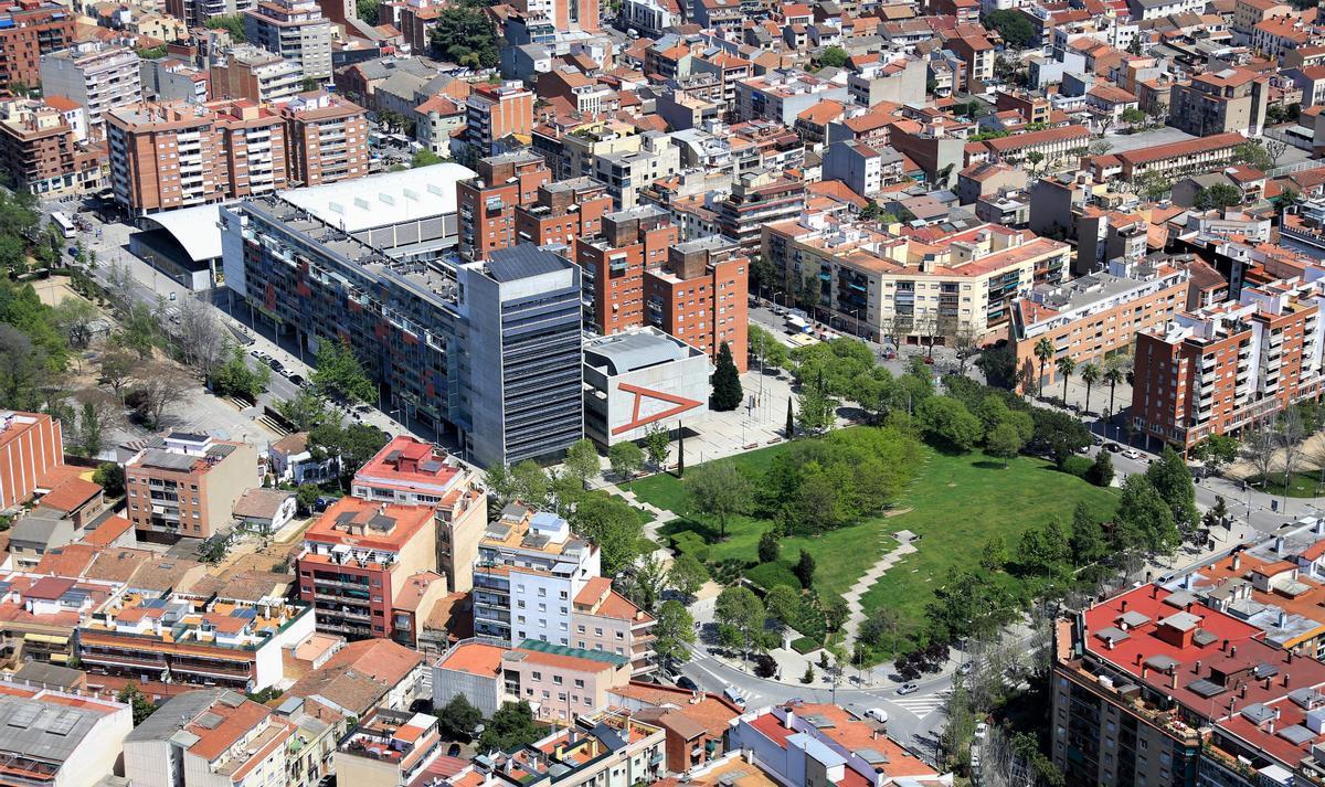 Vista aérea de Mollet del Vallès.