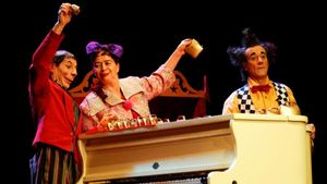Los Excéntricos, Premio Nacional de Circo