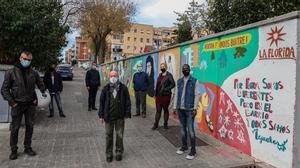 Algunos de los miembros de la revista 'Des de ja'.