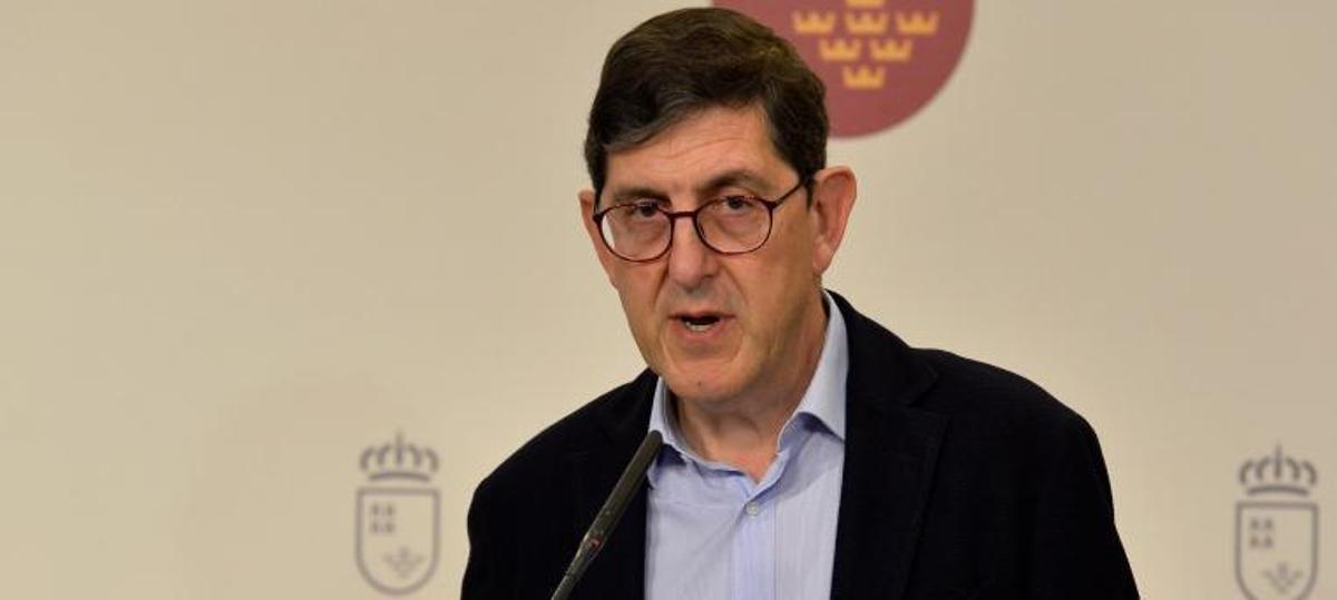 Manuel Villegas, exconsejero de Salud de la comunidad de Murcia.
