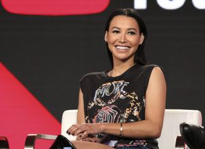 """FILE - In this Jan. 13, 2018, file photo, Naya Rivera participates in the Step Up: High Water panel during the YouTube Television Critics Association Winter Press Tour in Pasadena, Calif. Authorities say former """"Glee"""" star Rivera is missing and being searched for at a Southern California lake. The Ventura County Sheriff's Department late Wednesday, July 8, 2020, confirmed that Rivera is the person being searched for in the waters of Lake Piru, which is approximately 56 miles (90 kilometers) northwest of downtown Los Angeles. (Photo by Willy Sanjuan/Invision/AP, File)"""