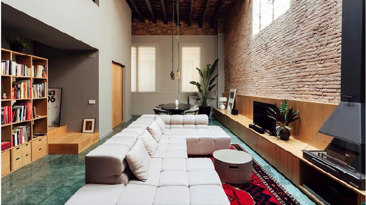 Un local comercial convertido en 'loft' por Global Projects.