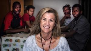 """Nuria Figueras: """"Están solos, necesitan cariño y a mí me gusta darlo"""""""