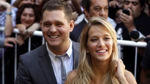 Michel Bublé y su esposa Luisana Lopilato.