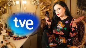 Alaska, nueva presentadora de 'Cine de Barrio' en La 1 de TVE.