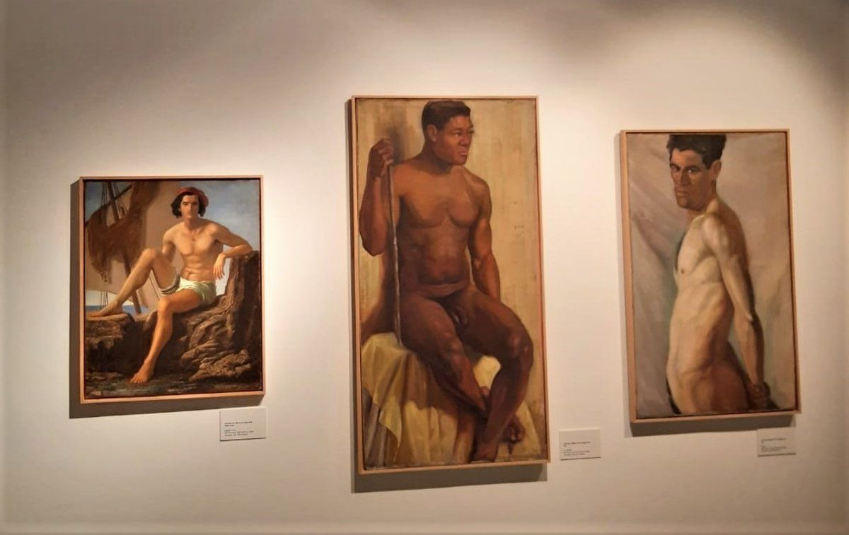 El Museu de L'Hospitalet acoge una exposición sobre el desnudo masculino.