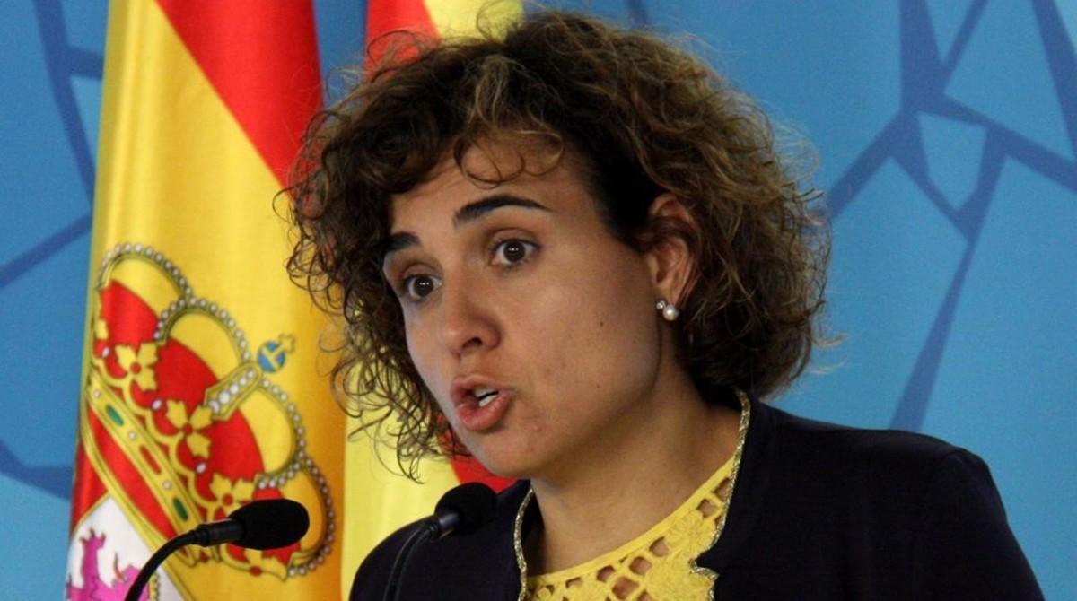 Dolors Montserrat, ministra de Sanidad y Asuntos Sociales.
