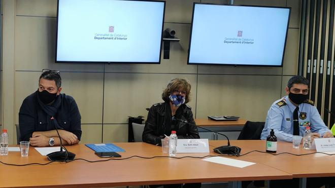 Conseller Interior Generalitat: Interior y Mossos comparten voluntad de mejora tras la reunión