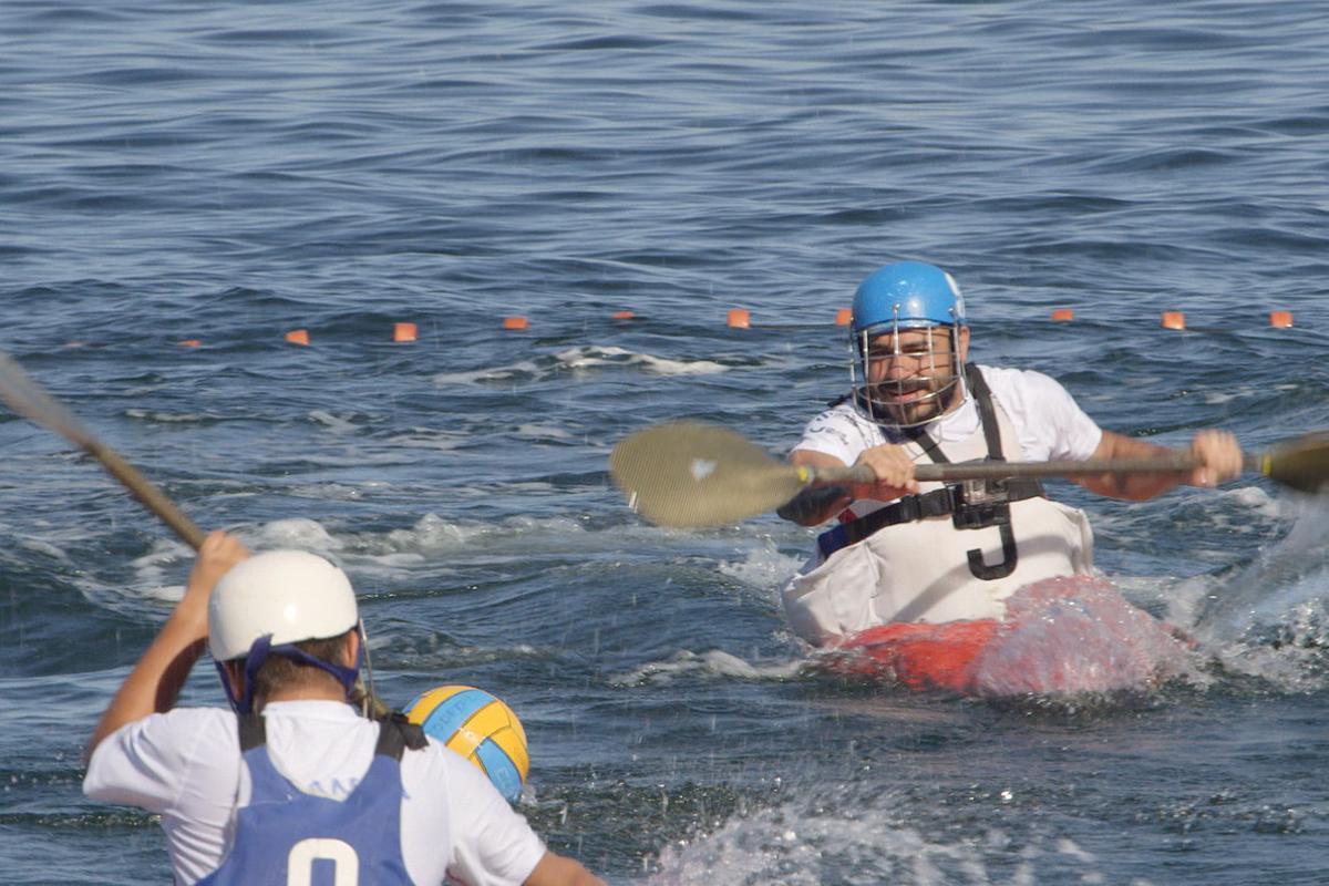 Kayac polo, en 'Deportes imposibles', de A&E.