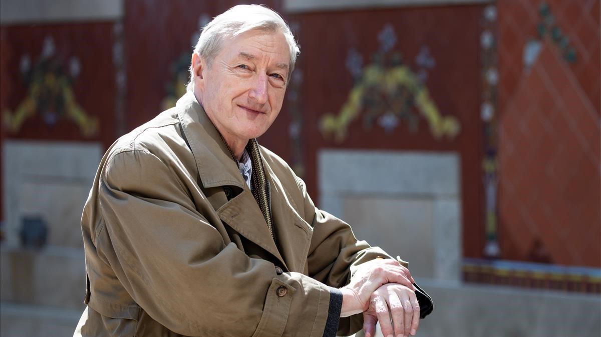 El escritor inglés Julian Barnes, este jueves en el CCCB.