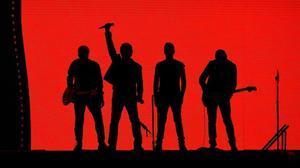 U2, en el concierto que ofrecieron el pasado 8 de julio en Londres, dentro de 'The Joshua Tree Tour'.