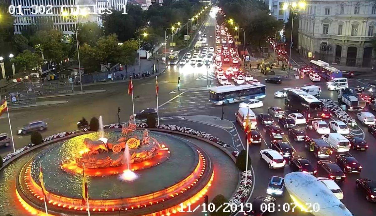 Plaza de Cibeles.