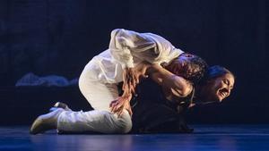 Ensayo de la obra 'Medea' interpretada por la compañía de danza de Antonio Márquez.
