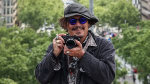 Johnny Depp, en Barcelona, el pasado mes de abril.