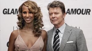 Iman y David Bowie, en 2006.