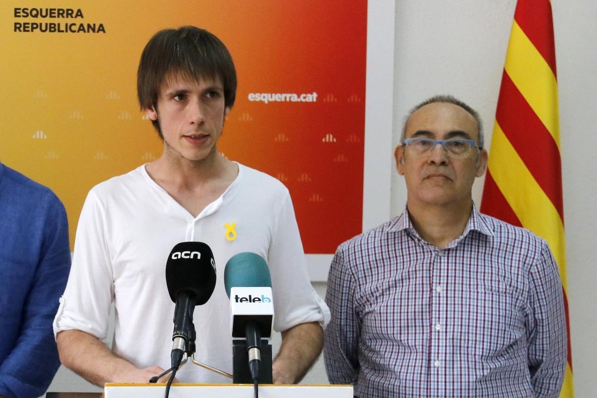 Àlex Montornès, presidente de ERC Badalona, en una imagen de archivo.
