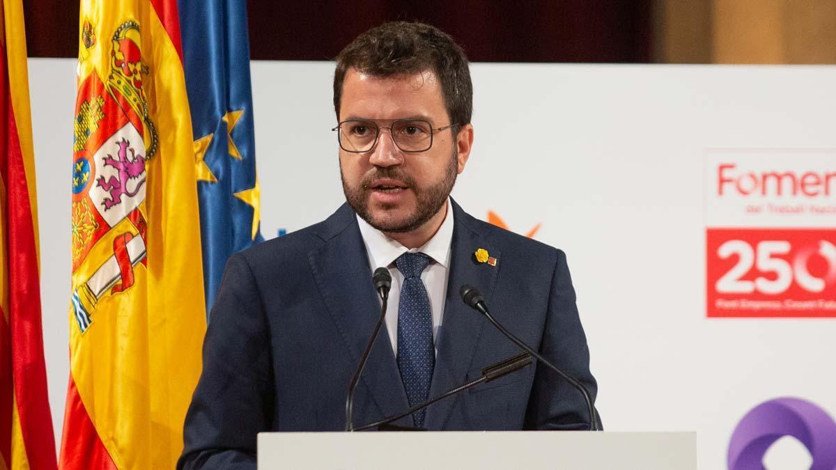 Pere Aragonès apela al diálogo y reconoce pasos del Gobierno ante Pedro Sánchez.