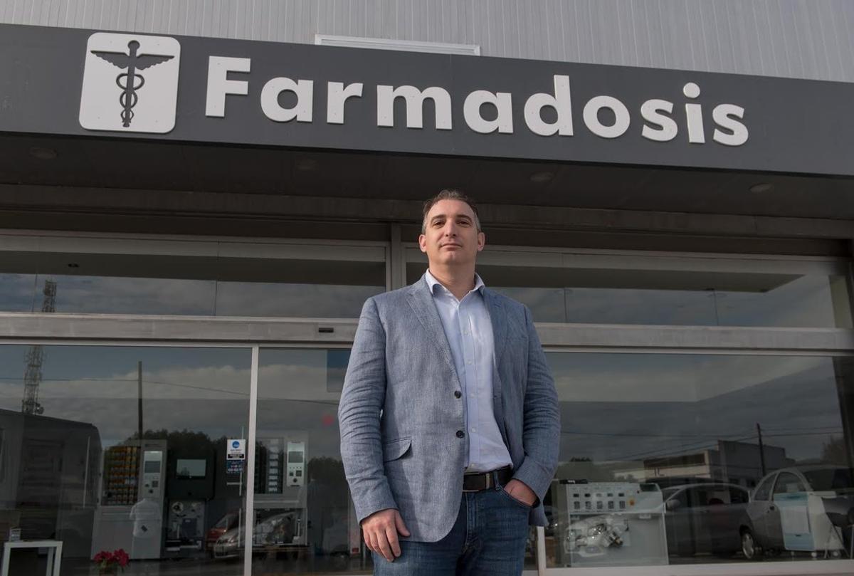 Asier Zubillaga, fundador de Farmadosis.
