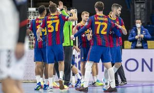 El Barça suma la sisena victòria a la Lliga de Campions d'handbol