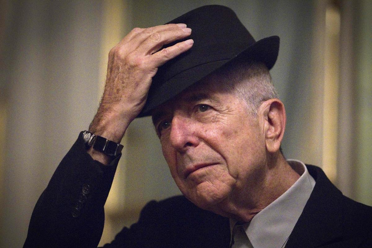 Leonard Cohen, durante una visita a París.