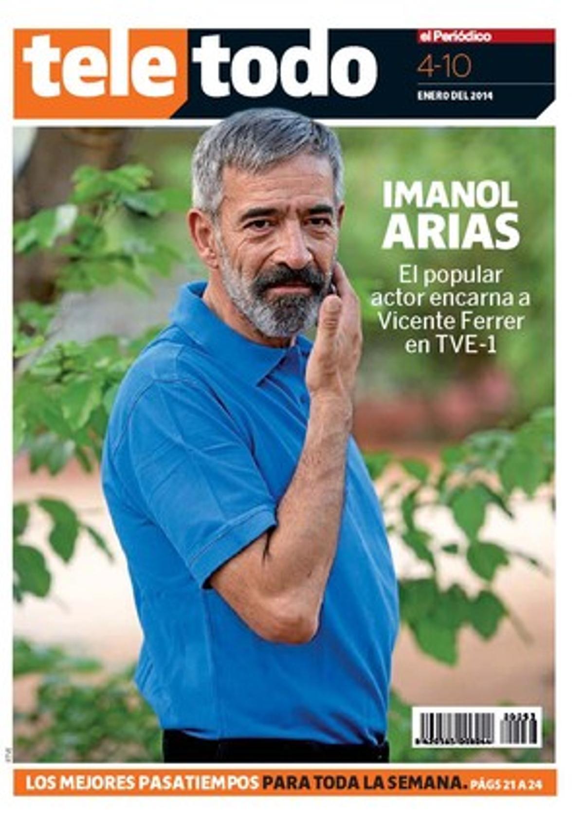 Imanol Arias se convierte en Vicente Ferrer