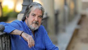 El guitarrista Rafael Riqueni, en su Sevillla natal hace unos días.