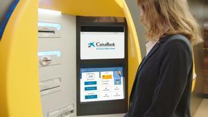 ECONOMIA Nuevo modelo de cajeros automáticos de CaixaBank
