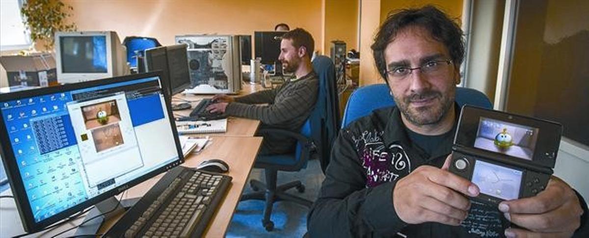Nacho García, fundador de Abylight, en la sede de la compañía.