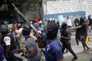 Fantom 509 ha sembrado el terror en toda la capital durante las manifestaciones.