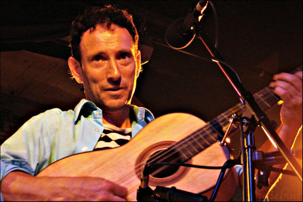 Jonathan Richman, compositor y cantante norteamericano.