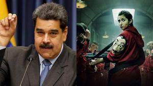 """Nicolás Maduro se declara fan de 'La casa de papel': """"Quiero conocer a los actores"""""""